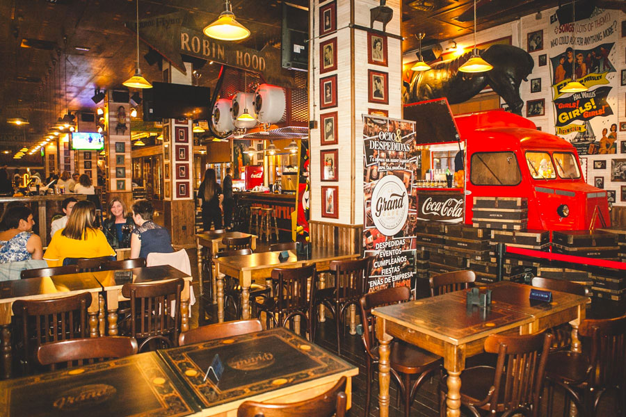 Le Grand Café Málaga centro